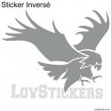 Stickers Aigle Tribal - Décoration intérieur en Vinyle - Nombreux coloris