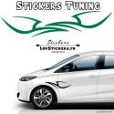 Stickers tuning de deco Tribal pour voiture auto moto