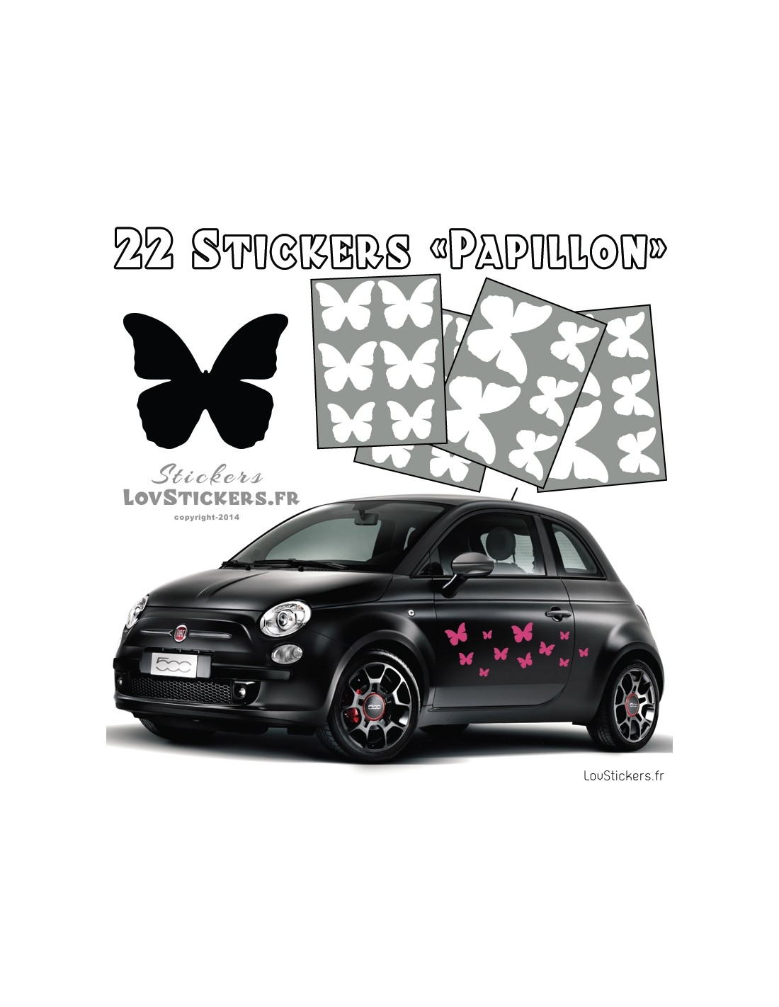 stickers autocollant pour voiture. Black Bedroom Furniture Sets. Home Design Ideas