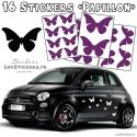 Planche stickers autocollant pour auto moto - Vinyle de qualité