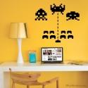 Sticker jeux video pour chambre ado