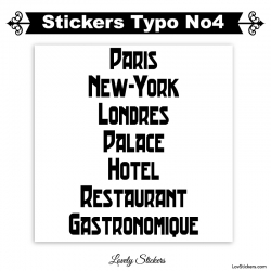 Stickers Font Trad - 2 lettres et chiffres adhesif - Autocollant voiture auto vitrine magasin