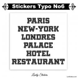 Caractere adhesif pour publicité vitrine magasin et voiture - Sticker Lettrage numero chiffre et nombre