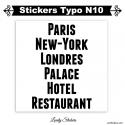 Stickers lettres et chiffres adhesif - Lot de 2 caractères - Autocollant voiture auto vitrine magasin