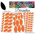 sticker pour composition decoration maison pas cher