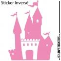 Sticker Chateau Fort - Décoration intérieur en Vinyle - Nombreux coloris