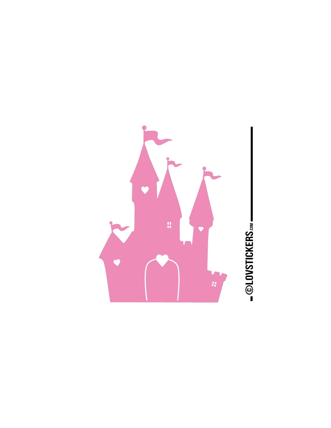 Stickers chateau de princesse for Image chateau princesse
