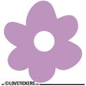 Sticker Fleur 60 cm - Décoration intérieur en Vinyle - Nombreux coloris