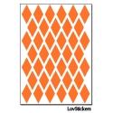 312 Stickers Losange 2 cm - Décoration Gommette Loisirs - Vinyle Repositionnable