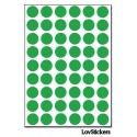 432 Ronds 1cm - Gommette Deco - Repositionnable - Vinyle pour activités et jeux pour enfants