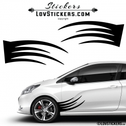 2 Tribal Tuning Voiture - Stickers Decoration